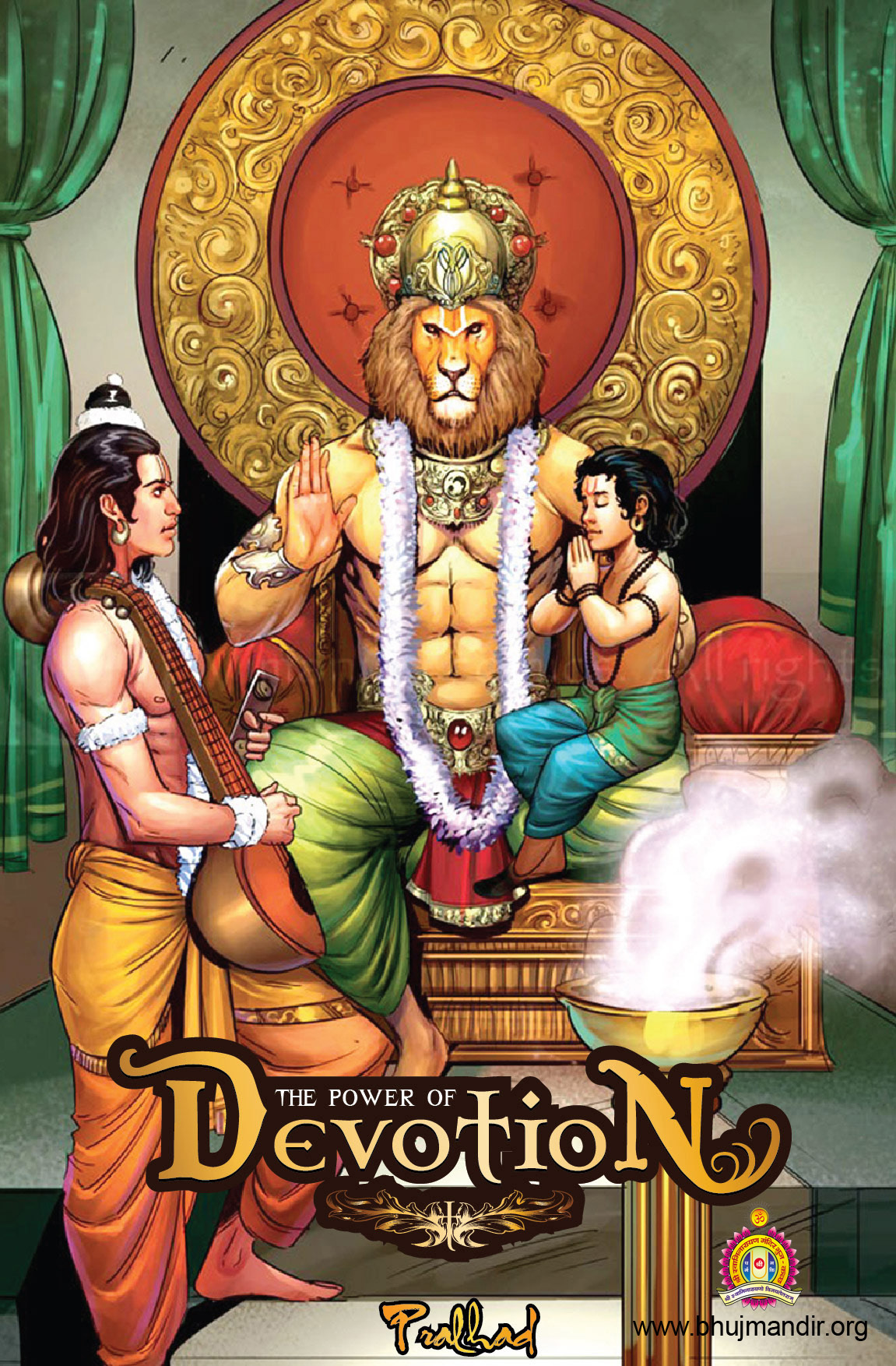 Cover of Power Of Devotion Prahlad Comic